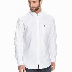 Selected Homme Collect Shirt Kauluspaita Valkoinen