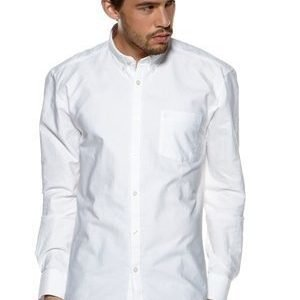 Selected Homme Collect Shirt Ls R SUP valkoinen XXL