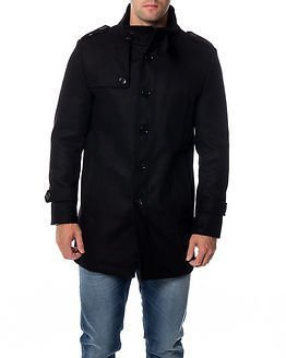 Selected Homme Covent Wool Jacket Black