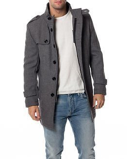 Selected Homme Covent Wool Jacket Medium Grey Melange
