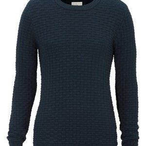 Selected Homme Dean Crew Neck Blueberry