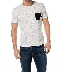 Selected Homme Dindi SS O-Neck Bright White