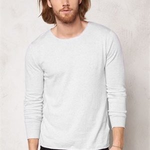 Selected Homme Dome Crew Neck Noos Snow White