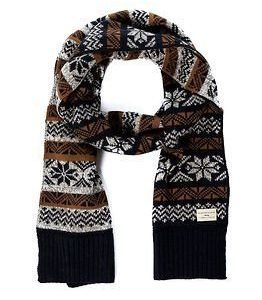 Selected Homme Elias Scarf Moonless Night