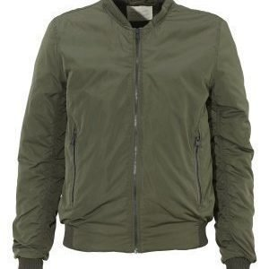Selected Homme Filson Bomber Jacket Forest Night