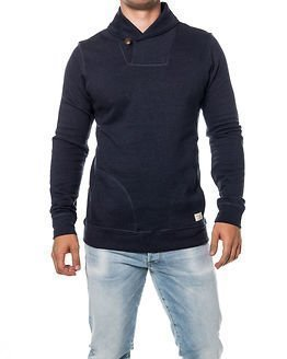 Selected Homme Fred Shawl Sweat Navy Blazer