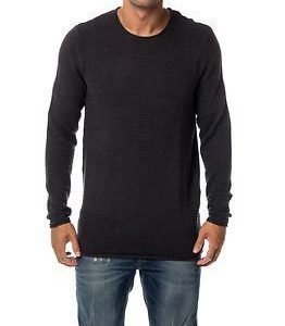 Selected Homme Gary Crew Neck Dark Grey Melange