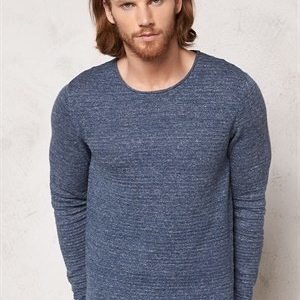 Selected Homme Gary Crew Neck True Navy