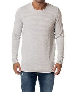Selected Homme Gary Crew Neck White Melange