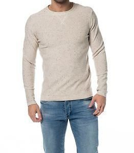 Selected Homme Hunter Crew Neck White Pepper Melange