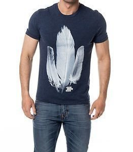 Selected Homme Jake O-neck Tee Dark Sapphire