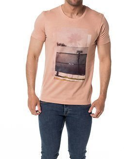 Selected Homme Jake Tee Mahogany Rose