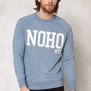 Selected Homme Jens Crew Neck Sweat Light Grey Melange