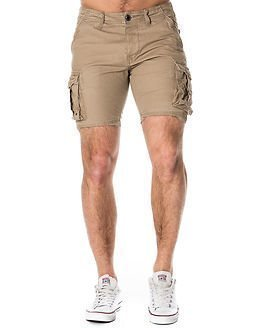 Selected Homme Jim Greige Cargo Shorts