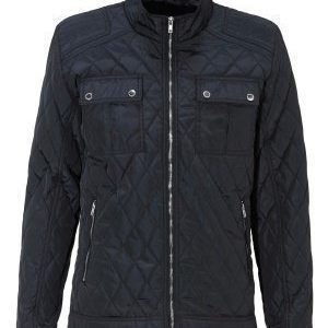 Selected Homme John Quilted Jacket Dark Navy