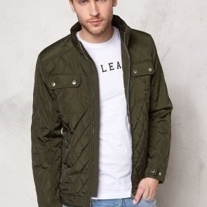 Selected Homme John Quilted Jacket Forest Night