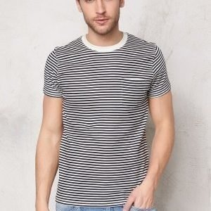 Selected Homme Liam ss Tee Dark Sapphire