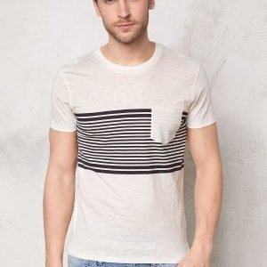 Selected Homme Liam ss Tee Marshmallow