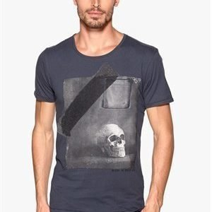 Selected Homme Made ss O-neck India Ink