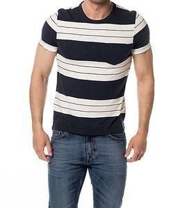 Selected Homme Marl O-neck Tee Total Eclipse