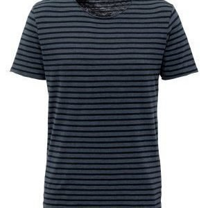Selected Homme Monte SS O-neck Tee Blue Nights