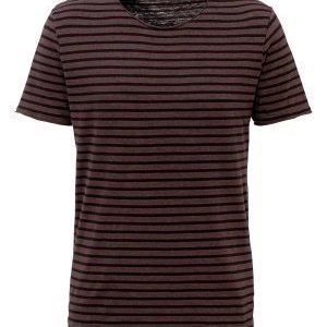 Selected Homme Monte SS O-neck Tee Fudge