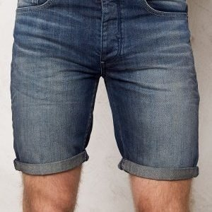 Selected Homme Nalex 1029 Shorts Dark Blue Denim