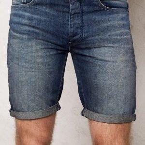 Selected Homme Nalex 1029 Shorts Dark Blue Denim