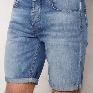 Selected Homme Nalex 1029 Shorts Lt Blue Denim