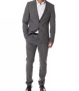 Selected Homme Newone Blazer Medium Grey Melange