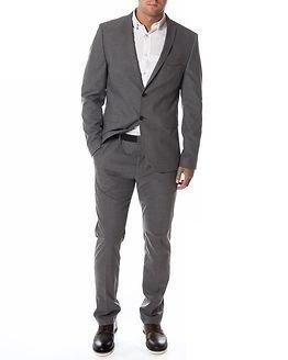 Selected Homme Newone Blazer Medium Grey Melange
