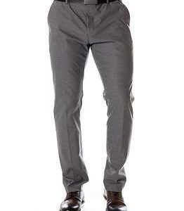 Selected Homme Newone Trouser Medium Grey Melange
