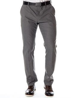 Selected Homme Newone Trouser Medium Grey Melange