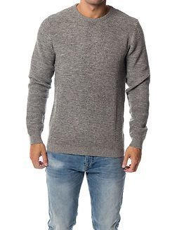 Selected Homme Newvincebubble Crew Neck Grey