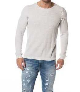 Selected Homme Nigel Crew Neck Snow White Melange