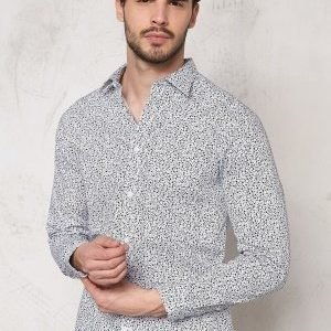 Selected Homme One Andre ls Shirt Bright White