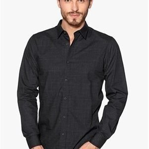 Selected Homme One Base Shirt Black