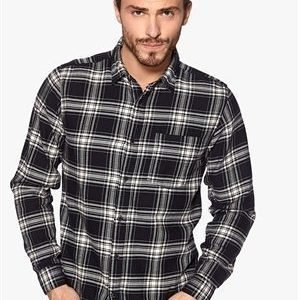 Selected Homme One Check Shirt Black