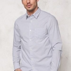 Selected Homme One Fil Shirt LS Noos Grey