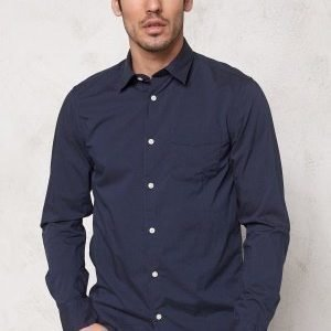 Selected Homme One Fil Shirt LS Noos Navy Blazer