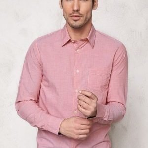 Selected Homme One Fil Shirt LS Red Dahlia