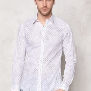 Selected Homme One Haze Shirt Bright White