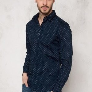 Selected Homme One Haze Shirt Dark Sapphire