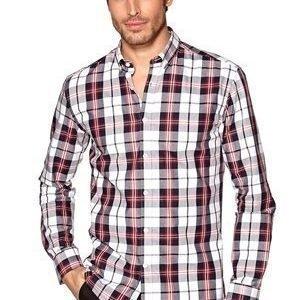 Selected Homme One Jax Check Shirt Valkoinen