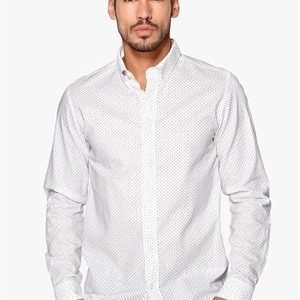 Selected Homme One Leth Shirt Bright White