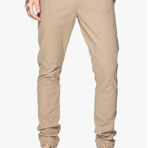 Selected Homme One Luca Chino Pant Greige