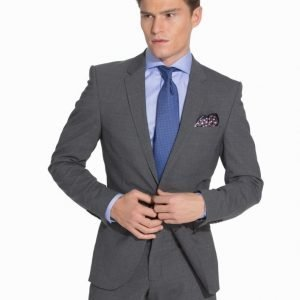 Selected Homme One Mylo Gib3 Mix Grey Suit Puku