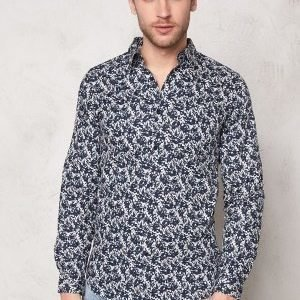 Selected Homme One Pass Shirt Glacier Gray