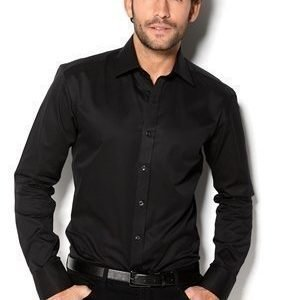 Selected Homme One Pelle Caracas Shirt musta