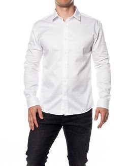 Selected Homme One Pelle Caracas White